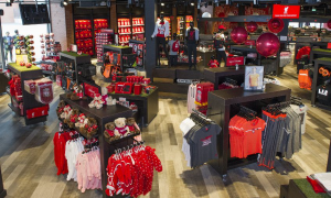 Liverpool Football Club shopfloor