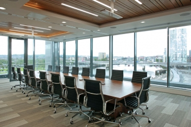 "<p class=""caption-name"">Prestigious Office, Belfast</p> 3000<sup>m2</sup> carpet tiles & ceramics"