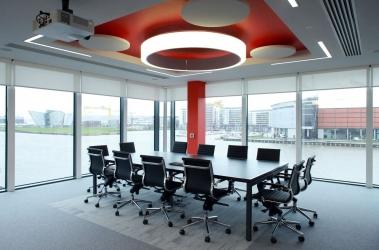 """<p class=""""caption-name"""">Commercial Office, Belfast</p> 700<sup>m2</sup> of carpet tiles & vinyl"""
