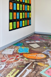 "<p class=""caption-name"">Laser Jet flooring, Greystones Gaelscoil. </p> Courtesy of the artist and Kerlin Gallery, Dublin <a href=""http://www.samkeogh.net/"">Sam Keogh</a> & <a href=""http://kerlin.ie"">Kerlin Gallery</a>"